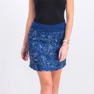 NEW Cypress Women's Floral Skort Blue
